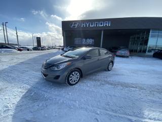 Used 2013 Hyundai Elantra GL, MANUELLE, A/C, BANC CHAUFFANT, BLUETOOTH,CRUIS for sale in Mirabel, QC