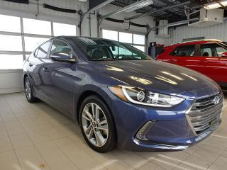 Used 2018 Hyundai Elantra GLS Auto+Toit Ouvrant+CUIR+AppleCarplay+A/C for sale in Ste-Julie, QC