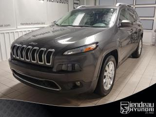 Used 2017 Jeep Cherokee Limited V6 + GPS + CUIR + TOIT PANORAMIQUE for sale in Ste-Julie, QC