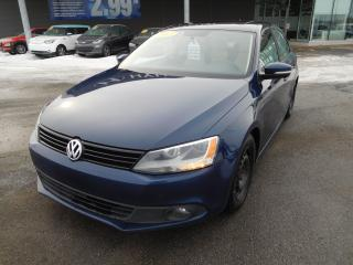 Used 2013 Volkswagen Jetta 2.5L, A/C, CUIR, TOIT OUVRANT, MAGS, VITRES ÉLECT. for sale in Mirabel, QC