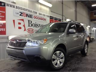 Used 2009 Subaru Forester SUBARU FORESTER AWD MANUEL PETIT BIJOU !!!!!!!!! for sale in Blainville, QC