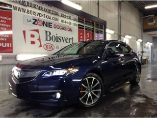 Used 2015 Acura TLX ELITE CUIR TOIT GPS CAMÉRA SEUL 43000 KM for sale in Blainville, QC