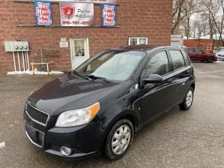 Used 2010 Chevrolet Aveo LT/2 SETS OF TIRES/REDUCED/SAFETY INCLUDED for sale in Cambridge, ON