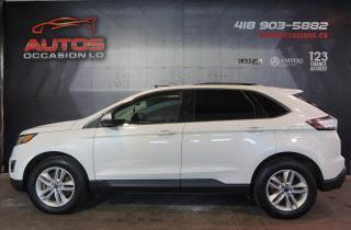 Used 2016 Ford Edge SEL AWD 3.5L CUIR TOIT PANO GPS NAV CAM 79 540 KM for sale in Lévis, QC