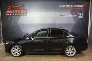 Used 2014 Volkswagen Jetta GLI EDITION 30 ANNIVERSAIRE CUIR TOIT GPS NAVI CAM for sale in Lévis, QC