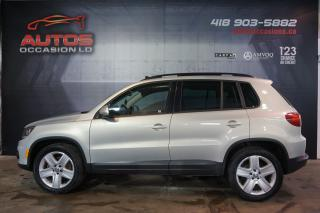 Used 2013 Volkswagen Tiguan COMFORTLINE 4MOTION TSI CUIR TOIT PANO 138 604 KM for sale in Lévis, QC