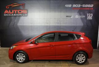 Used 2014 Hyundai Accent GL AUTOMATIQUE A/C SIÈGES BLUETOOTH 153 112 KM !! for sale in Lévis, QC