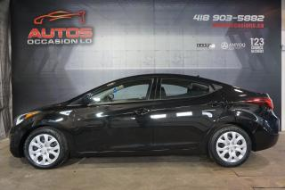 Used 2015 Hyundai Elantra GL AUTO FULL ÉQUIPÉ A/C SIÈGES BLUETOOTH 60 950 KM for sale in Lévis, QC