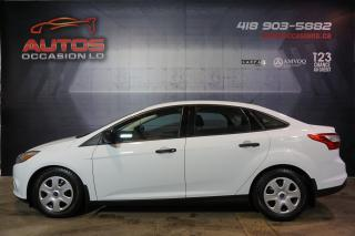 Used 2013 Ford Focus S AUTOMATIQUE AIR CLIMATISÉ 52 391 KM CERTIFIÉ !! for sale in Lévis, QC