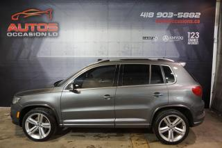 Used 2013 Volkswagen Tiguan R-LINE 4MOTION CUIR BRUN TOIT PANO 124 970 KM for sale in Lévis, QC