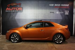 Used 2011 Kia Forte Koup SX 2.4 AUTOMATIQUE CUIR TOIT OUVRANT MAGS 119 588 for sale in Lévis, QC