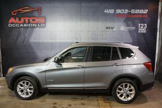 Used 2011 BMW X3 28i AWD XDRIVE FULL CUIR MAGS TOIT PANO 123 498 KM for sale in Lévis, QC