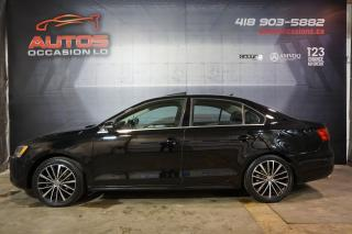 Used 2014 Volkswagen Jetta HIGHLINE 1.8 TSI 5 VITESSES CUIR TOIT BLUETOOTH for sale in Lévis, QC