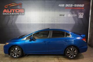 Used 2015 Honda Civic EX 5 VITESSES TOIT OUVRANT CAMERA BLUETOOTH 94 621 for sale in Lévis, QC