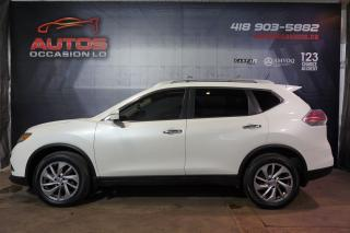 Used 2015 Nissan Rogue SL AWD CUIR TOIT PANO CAMERA 360 GPS NAV 79 300 KM for sale in Lévis, QC