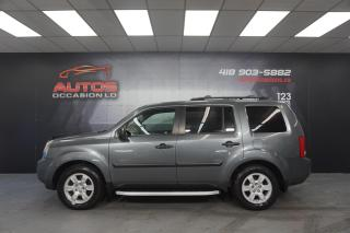 Used 2010 Honda Pilot 4WD LX AUTO 8 PASSAGERS FULL ÉQUIPÉ A/C DÉMARREUR for sale in Lévis, QC