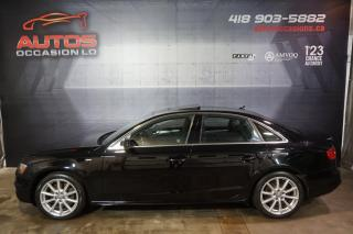 Used 2016 Audi A4 PROGRESSIV PLUS + S LINE QUATTRO GPS NAV TOIT CAME for sale in Lévis, QC