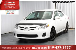 Used 2013 Toyota Corolla CLIMATISATION| VITRES ÉLECTRIQUE| 1 PROPRIO for sale in Drummondville, QC
