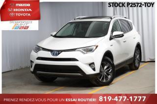 Used 2016 Toyota RAV4 Hybrid HYBRID  INTÉGRALE  XLE  TOIT for sale in Drummondville, QC