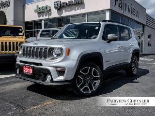 Used 2019 Jeep Renegade Limited 4x4 l NAV l SUNROOF l HEATED LEATHER l for sale in Burlington, ON
