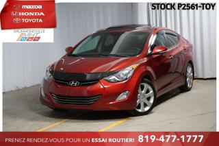 Used 2013 Hyundai Elantra LIMITED     CUIR + TOIT OUVRANT for sale in Drummondville, QC