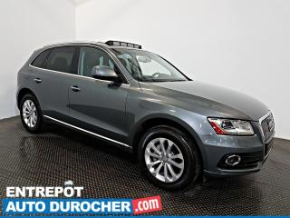 Used 2016 Audi Q5 2.0T Progressiv AWD NAVIGATION  Toit Ouvrant - A/C for sale in Laval, QC