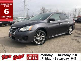Used 2015 Nissan Sentra SR | Nav | Sunroof | Auto | Alloys | B/Up Cam for sale in St Catharines, ON