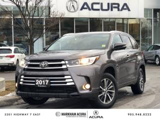 Used 2017 Toyota Highlander XLE AWD for sale in Markham, ON