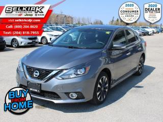 Used 2016 Nissan Sentra SR Nav, sunroof SR  - Local - Bluetooth - Sunroof - $115 B/W for sale in Selkirk, MB