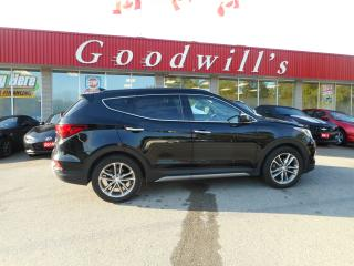 Used 2018 Hyundai Santa Fe Sport SPORT! 2.0L TURBO! HEATED LEATHER! LANE ASSIST! for sale in Aylmer, ON