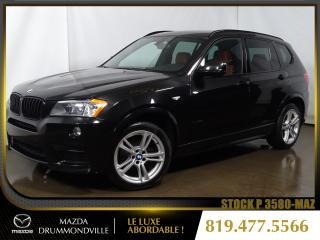 Used 2014 BMW X3 |xDrive35i|M-SPORT|TOITPANO|CUIR|3.0T+V6| for sale in Drummondville, QC