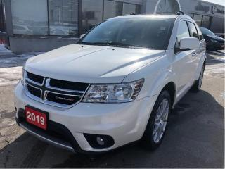 Used 2019 Dodge Journey GT AWD w/Leather, Navi, Sunroof, DVD for sale in Hamilton, ON
