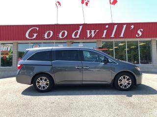 Used 2013 Honda Odyssey EX-L! 8 PASS! DVD! HEATED LEATHER! BLUETOOTH! for sale in Aylmer, ON