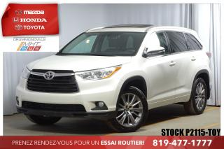Used 2016 Toyota Highlander ** XLE **     CUIR + TOIT + JANTES SPORT 19PO for sale in Drummondville, QC