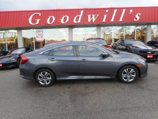 Used 2017 Honda Civic Sedan LX! HEATED SEATS! BACKUP CAM & SENSOR! BLUETOOTH! for sale in Aylmer, ON
