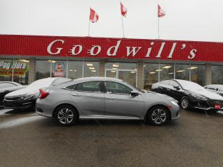 Used 2018 Honda Civic Sedan LX! CLEAN CARPROOF! HEATED SEATS! BACKUP CAM! for sale in Aylmer, ON