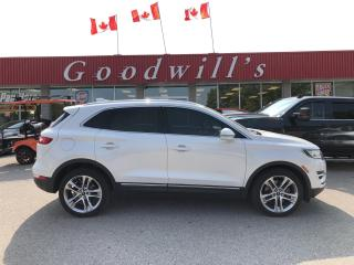 Used 2015 Lincoln MKC RESERVE! LOADED! CLEAN CARPROOF! NAVI! SUNROOF! for sale in Aylmer, ON