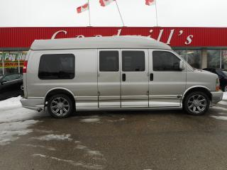 Used 2005 GMC Savana EXPLORER! RAISED ROOF, 9 PASSENGER, LEATHER for sale in Aylmer, ON