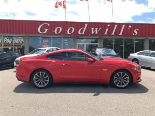 Used 2015 Ford Mustang GT! PREMIUM EDITION! LOW MILEAGE! CLEAN CARPROOF! for sale in Aylmer, ON