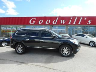 Used 2015 Buick Enclave LEATHER GROUP! HEATED LEATHER SEATS! NAVI! DVD! for sale in Aylmer, ON