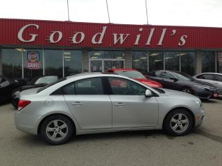 Used 2016 Chevrolet Cruze LT! HEATED LEATHER SEATS! FACT. REMOTE START! for sale in Aylmer, ON