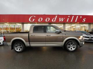 Used 2010 Dodge Ram 1500 LARAMIE! CREW! HEATED AND VENTED LEATHER SEATS! for sale in Aylmer, ON
