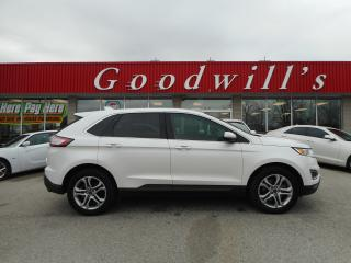 Used 2015 Ford Edge TITANIUM! NAVI! REMOTE START! BLUETOOTH! for sale in Aylmer, ON