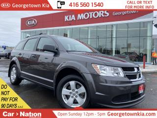 Used 2017 Dodge Journey SE PLUS | 7 PASS | BACK UP CAM | BLUETOOTH | for sale in Georgetown, ON
