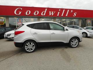 Used 2010 Hyundai Tucson GLS! LTD! CLEAN CARPROOF! HEATED LEATHER! for sale in Aylmer, ON