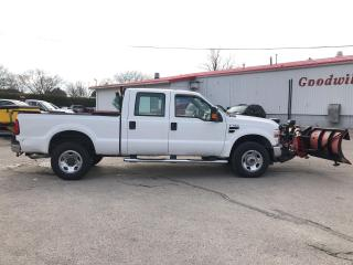 Used 2008 Ford F-350 PLOW TRUCK ! XLT CREW! LOW KM! for sale in Aylmer, ON
