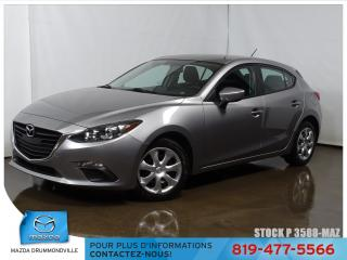 Used 2016 Mazda MAZDA3 |GX|CAMERA|REGVIT|BLUETOOTH|A/C| for sale in Drummondville, QC