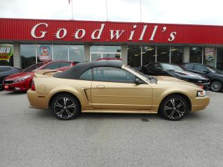 Used 2000 Ford Mustang AS IS! CONVERTIBLE! BASE! LEATHER SEATS! for sale in Aylmer, ON