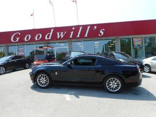 Used 2012 Ford Mustang HEATED LEATHER SEATS! BLUETOOTH! for sale in Aylmer, ON