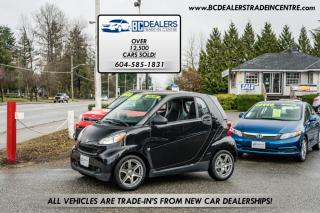 Used 2009 Smart fortwo Fortwo Passion, Only 42k, 2 Sets of Wheels, No Accidents! for sale in Surrey, BC